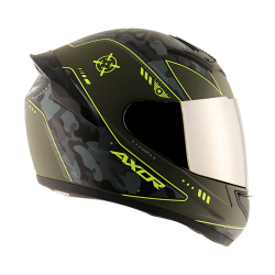 Axor Rage War Matt Neon Yellow Helmet