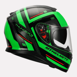 MT Thunder3 SV Carry Gloss Helmet (Green)