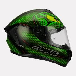 Axxis Draken Nahesa Gloss Helmet (Green)