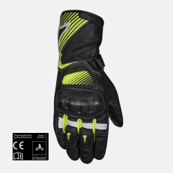 MACNA Airpack Full Gauntlet Leather Fluorescent yellow Gloves