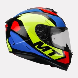 MT Blade 2SV Trick Gloss Red Helmet