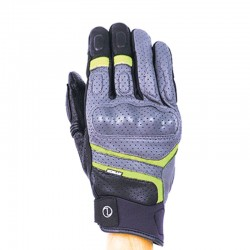 Rynox Air GT Gloves Grey green