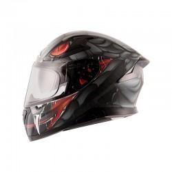 Apex Venomous D/V Black Grey Helmet