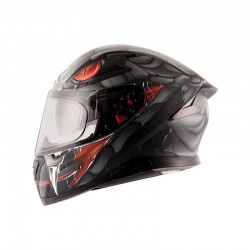 Apex Venomous D/V Black Grey Helmet