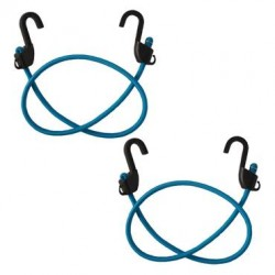 MOTOTECH Grappler Bungee Tie-Down - 36 inches - Pack of 2 Blue
