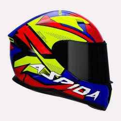 Aspida Tourance Rush Multi colour Helmet