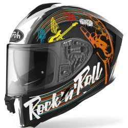 Airoh Spark Rock N Roll Black Gloss Helmet