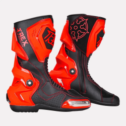 Ryo T-REX Riding Boots (RED)