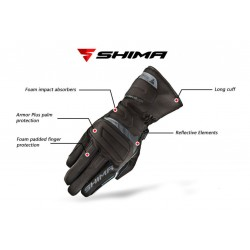 Shima TOURING DRY long cuff gloves