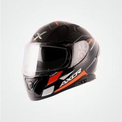 Axor Apex Turbine D/V Helmet (Black Orange Grey)
