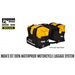 Frogman Waterproof Saddle Bags