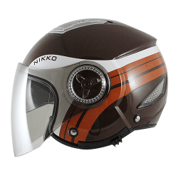 Nikko N-556 Urban WONDER Helmet (BROWN)