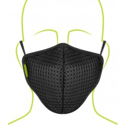 Rynox Defender Evo R99 Mask - Pack Of 1 (Black)