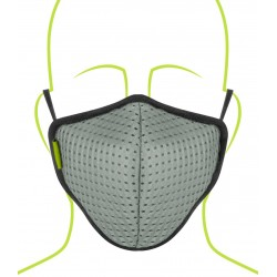Rynox Defender Evo R99 Mask - Pack Of 1 (Light Green)