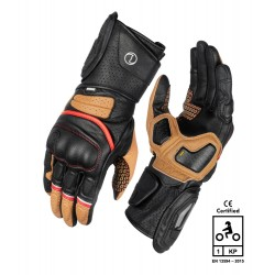 Rynox Storm Evo 2 Gloves (Brown)