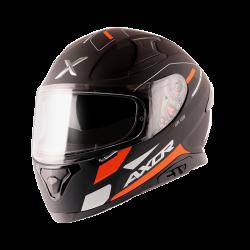 Axor Apex Turbine D/V Helmet (Dull Black Orange)