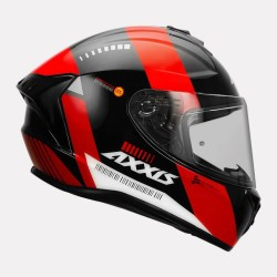 Axxis Helmet Draken B MP4 Gloss Red Helmet