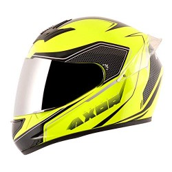 Axor Rage Ecco Gloss Neon Yellow Black Helmet