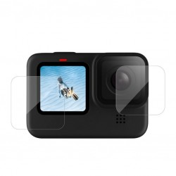 Tempered glass film for GoPro Hero 9 (front + back)