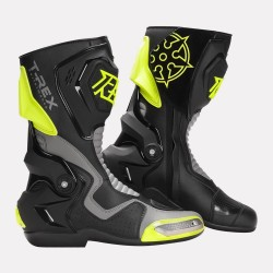 Ryo T-REX Riding Boots (Fluorescent Yellow )
