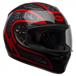 Bell Qualifier Scorch Helmet ( Black red )