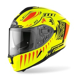 Airoh Spark Vibe Matte Helmet ( Yellow Fluo )