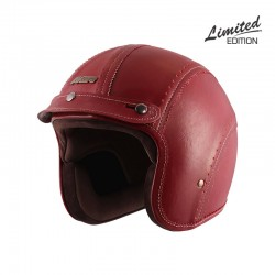Axor Jet Cherry Cutwork Leather Helmet