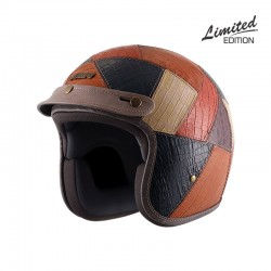 Axor Jet Multiprint Leather Helmet