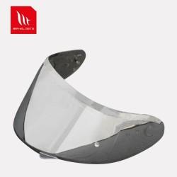 MT Helmet - V14 Pin-lock ready Visor (Silver Iridium)