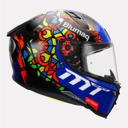 MT Revenge 2 Moto 3 Black Helmet