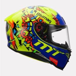MT Revenge 2 Moto 3 fluorescent yellow Helmet