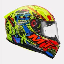 MT Revenge 2 Piston fluorescent yellow Helmet