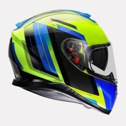 MT Thunder3 SV Gate Blue Helmet