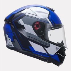 MT Hummer Quality Gloss Blue Helmet