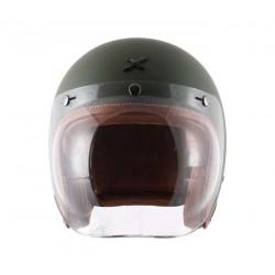 Axor Retro Jet Dull Battle Green Helmet