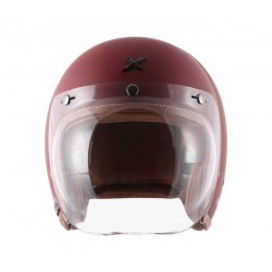 Axor Retro Jet Dull Chestnut Red Helmet