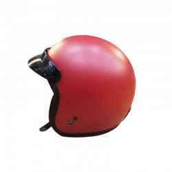 THH TS-356 Plain Matt Red Helmet