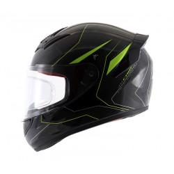Axor Rage Carbon Warfare Neon Yellow Helmet