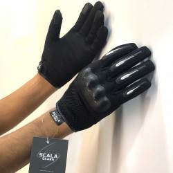 Scala Air Black Gloves