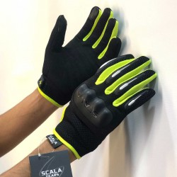 Scala Air Flo Yellow Gloves