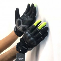 Scala Viper Flo Yellow Gloves