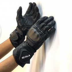 Scala Trekker Black Gloves