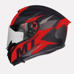 MT Hummer Brave Matt Red Helmet