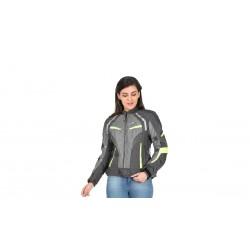 Solace Asmi Ladies Jackets V3.0(Grey & Neon)