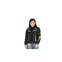 Asmi Ladies Jacket V3.0(Black & Neon)