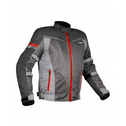 Rynox Air GT3 Jacket ( Dark Grey Red )