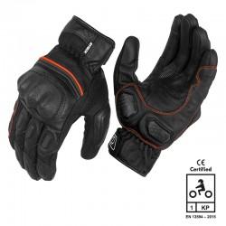 Rynox Tornado Pro 3 Gloves Black Red