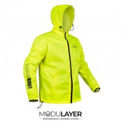 Rynox H2go Rain Jacket ( Hi-Viz Green )