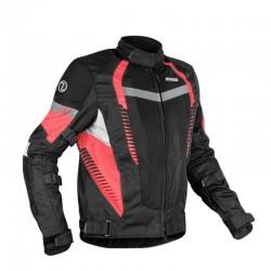 Rynox New Tornado Pro 4 Jacket ( Black Red )