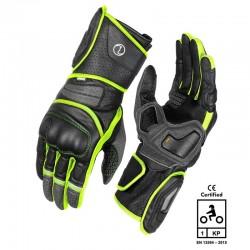 Rynox Storm Evo 2 Gloves ( Hi-Viz Green )